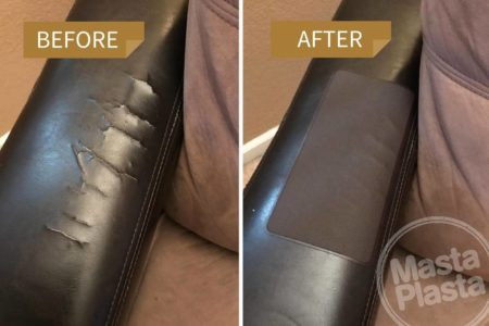 See how customers have used MastaPlasta to repair a wide range of leather items