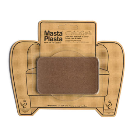 Leather Repair Patch | Medium Plain – 10cm x 6cm